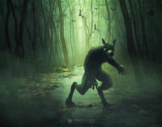 Werewolf by adrianoampb