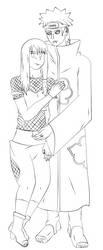 Pein X Yuumei Lineart by Timagirl