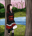 Senju Hitomi OC by Timagirl