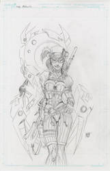 Lady Mechanika Prelim by KenHunt