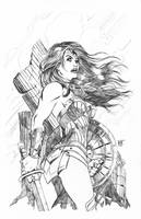 Wonder Woman RocCon Exclusive by KenHunt