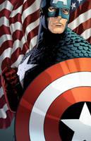 Captain America by DStPierre