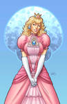 Illustrious Bits - Princess Peach Colored by DStPierre