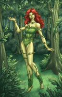 Poison Ivy NYCC 2012 Print by DStPierre