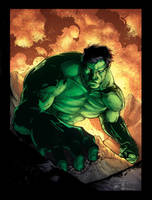 abc142's Hulk colors by DStPierre