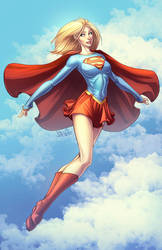 Supergirl 2013 Colors by DStPierre