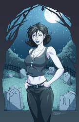 Death Print Colored by DStPierre