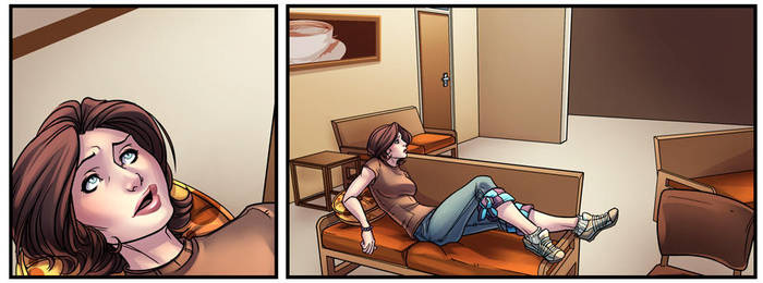 Sin of Omniscience #3 Panel Preview by DStPierre