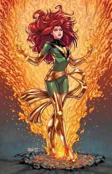 Phoenix Colored by igloinor by DStPierre