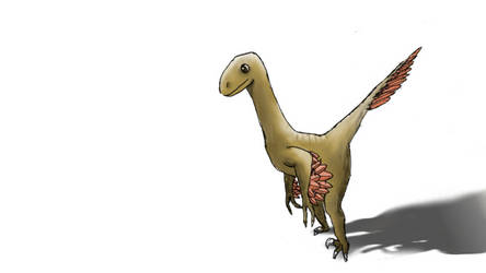 Nameless Dinosaur by ForlornCreature