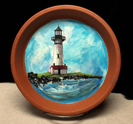 Yaquina Lighthouse by ThisArtToBeYours