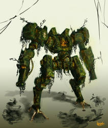 UCR jungle paint job by AndyND