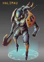 Time Travelin-Hunter by AndyND