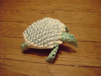 Origami Turtle by Slitwalker