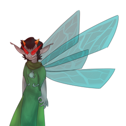 DR4GONFLY W1NGS - Terezi Pyrope by NotWerewolf
