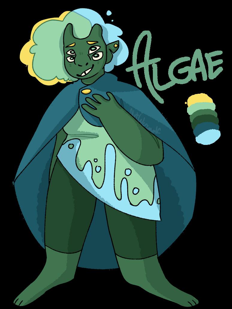 oh, me ? - Algae by NotWerewolf