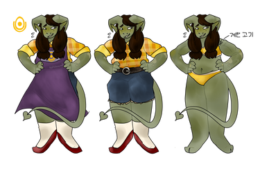 amelie reference sheet !! by NotWerewolf