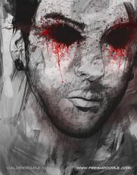 BloodShot Eyes by thefreshdoodle