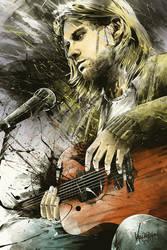 Kurt Cobain, 1967-1994 by thefreshdoodle