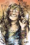 Janis Joplin, 1943-1970 by thefreshdoodle