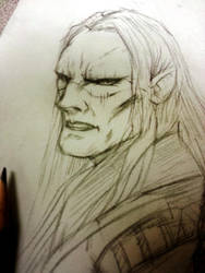 WIP - Prince Nuada by thefreshdoodle