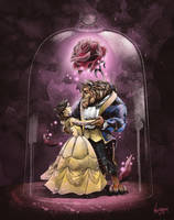 Beauty and the Beast by thefreshdoodle