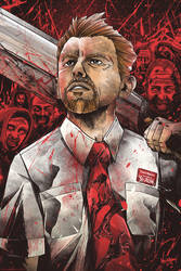 Shaun of the Dead by thefreshdoodle
