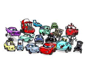 Lil Cars by Nevuela