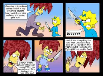 'Babysitter Bob' comic, pg. 20 by Nevuela