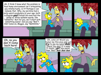 'Babysitter Bob' comic, pg. 23 by Nevuela