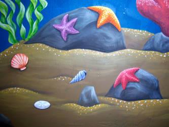 Undersea Mural 4 by Nevuela