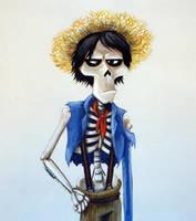 Hector Rivera Portrait #3 by Nevuela