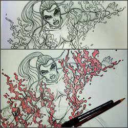 SHAVVKI Comic Art by deadspirit6