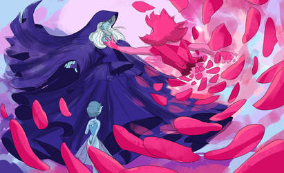 Blue Diamond's loss by Zipfelzeus