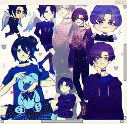 Ichiro collage (OC) by Dachiro-kun