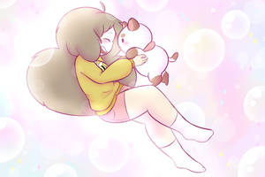 Bee and Puppycat by PuppyMintMocha