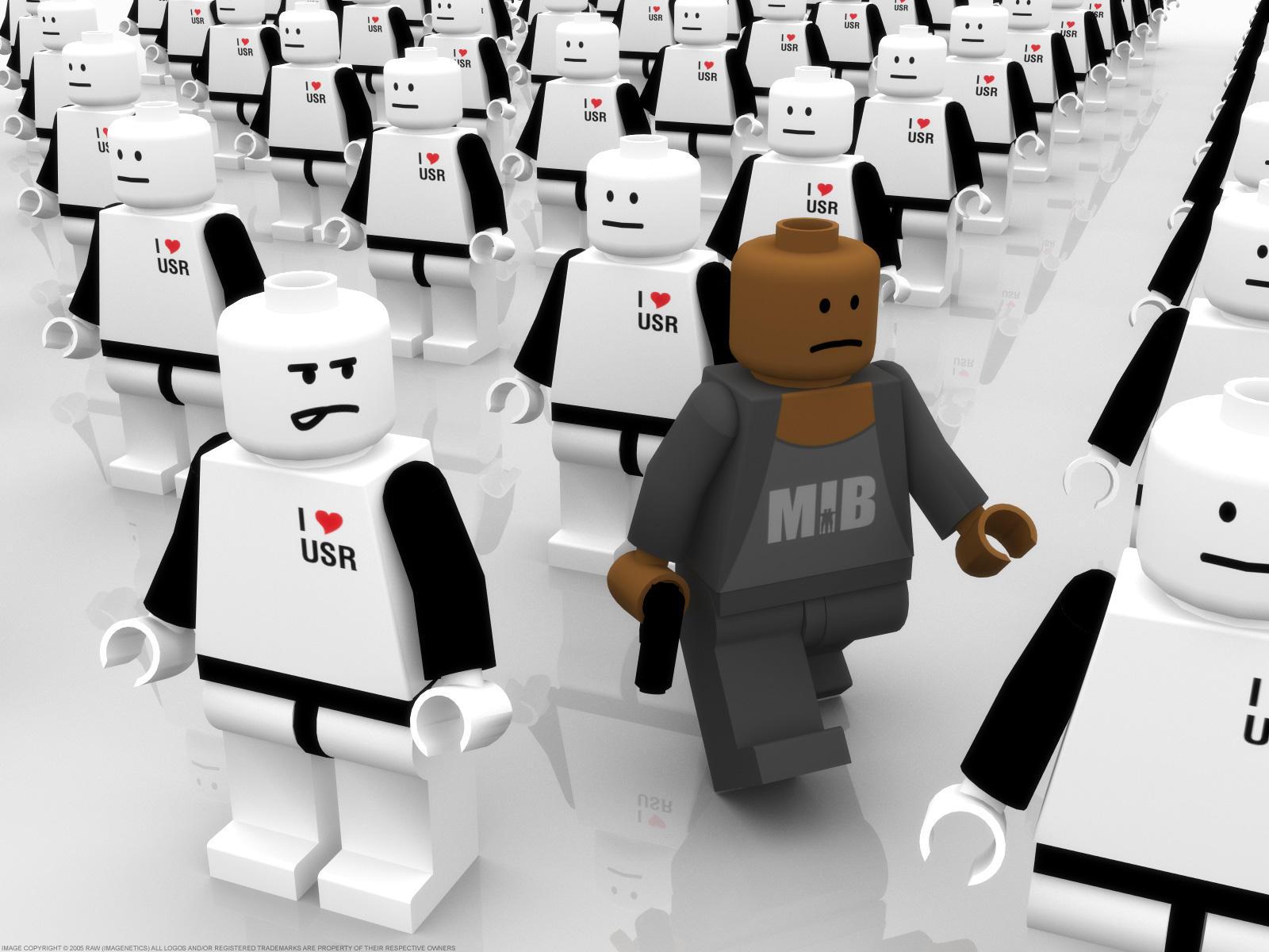 I, Robot - LEGO version by rawart
