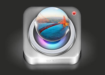 360 Ball IOS ICON by sky-seeker