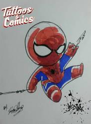 Spiderman Chibi by Wild-Inx