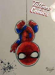 Spiderman Chibi 2 by Wild-Inx