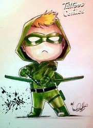 Green Arrow Chibi  by Wild-Inx