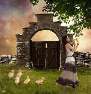Mother Duck by aldona21