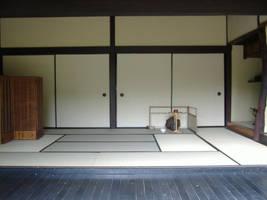 Japanese House: Living Room by gamefan23