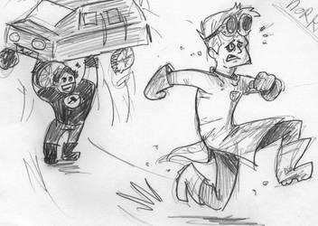 Run, Doctor Horrible! by AlixPaugam