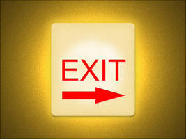 Exit Sign by eVolutionZ