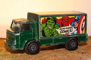 Super heros toy truck by eVolutionZ