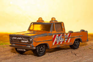 Service truck (old toy) by eVolutionZ