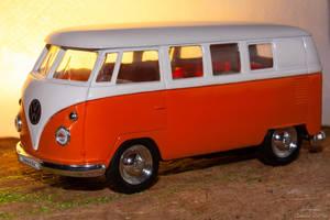 VW transporter toy bus by eVolutionZ