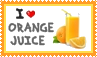 Orange juice - stamp by kas7ia