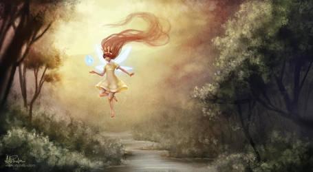 Child of Light (fanart) by aliphelps
